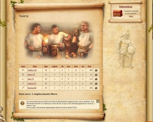 La taverne de my gladiator