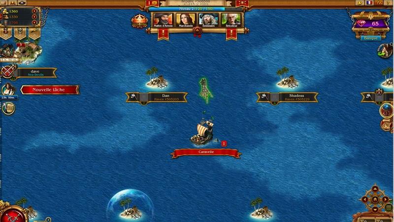 pirates tides of fortune test du jeu par navigateur. Black Bedroom Furniture Sets. Home Design Ideas